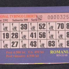 A4116 Bilet loto TvBingo Liberty