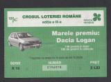Bilet loto 2 lei Crosul loteriei 1