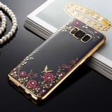 Husa Samsung Galaxy S8 + Plus - Luxury Flowers Gold