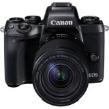 Aparat Foto Mirrorless EOS M5, Negru cu Obiectiv EF-M 18-150mm IS STM, Canon