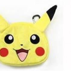 Universal Pikachu Plush Pouch Xl Nintendo 3Ds