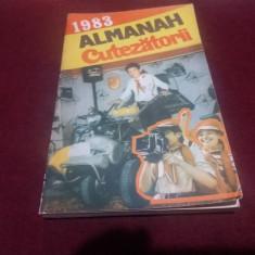 ALMANAH CUTEZATORII 1983