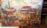 Tablou-La iarmaroc, Scene gen, Ulei, Abstract
