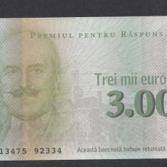 Bon 3000 euro Readers Digest UNC