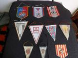 Lot de fanioane ale unor cluburi de fotbal Romanesti.Anii 1960.Reducere.