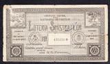Bilet loto 25 lei 1927 ajutorarea sinistratilor 1