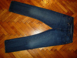 Blugi Levis 501 -Marimea W34xL34-Made in Mexic- (talie-88cm,lungime-111cm), 34, Lungi