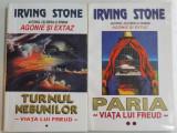 TURNUL NEBUNILOR / PARIA VOL I-II DE IRVING STONE ,