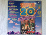 Super 20 international starlights compilatie disc vinyl lp muzica disco pop rock, VINIL, ariola