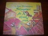 ANA  BLANDIANA  -  INTAMPLARI  DE  PE  STRADA  MEA  ( rara, ilustrata color ) *, Ana Blandiana