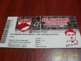 Bilet     Dinamo   -  Astra  Giurgiu