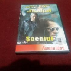 DVD THE JACKAL SACALUL, Romana