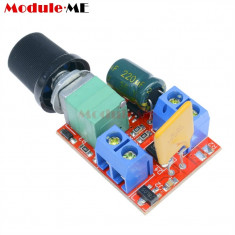 controler potentiometru pwm 5A 90W motor dc viteza 3v-35v switch led dimmer