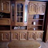 Mobila deosebita din lemn masiv de nuc + birou