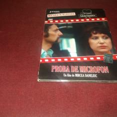 DVD PROBA DE MICROFON, Romana
