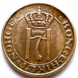 MOKAZIE , Norvegia , Haakon VII (1930-1957) , 1 Ore 1938, Europa
