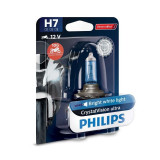 Bec Philips H7 12V 55W Crystal Vision Ultra Moto 12972CVUBW