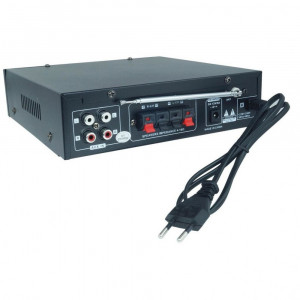 PROMO! AMPLIFICATOR/STATIE KARAOKE CU BLUETOOTH,RADIO,AFISAJ,MP3 USB+MICROFOANE!