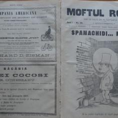 Moftul roman , rev.  spiritista nationala ; Dir. L. Caragiale , nr. 32 din 1893