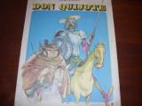 MIGUEL DE CERVANTES  -  DON  QUIJOTE (format foarte mare, ilustratii Eugen Taru), Miguel de Cervantes