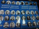 STIINTELE EDUCATIEI - DICTIONAR ENCICLOPEDIC - 2 volume