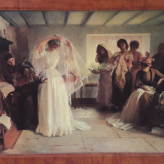 Replica tablou 'The Wedding Morning' - John Henry Frederick Bacon (1866 - 1913)