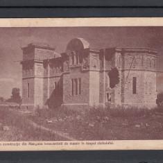 MANGALIA  BISERICA IN CONSTRUCTIE BOMBARDATA DE INAMIC IN TIMPUL PRIMULUI RAZBOI, Necirculata, Printata