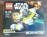 Lego Star Wars 75162 Microfighters - Y-Wing - nou, sigilat in cutie, 6-10 ani