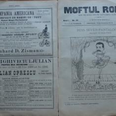 Moftul roman , rev. spiritista nationala ; Dir. L. Caragiale , nr. 12 din 1893
