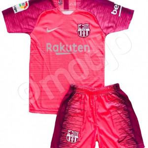 Compleu Echipament Fotbal FC BARCELONA MESSI MODEL 2018-2019 pentru copii