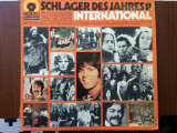 Schlager des jahres vol11 international disc vinyl lp compilatie muzica pop rock, VINIL, Electrola