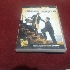 DVD  LUMINILE ORASULUI, Romana