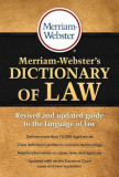 Merriam-Webster's Dictionary of Law, Paperback