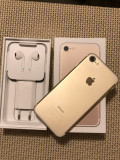 IPhone 7 gold 32 gb impecabil full box neverlocked, Auriu, 32GB