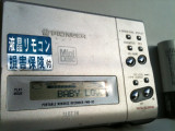Minidisc Pioneer Recorder Walkman MD portabil player metal functional Japonia