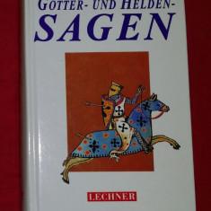 Gotter- und Helden-sagen antologie de ziceri populare germane - cartonata 630p