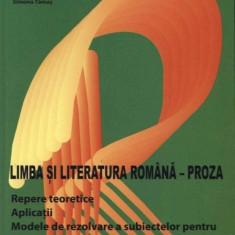 Limba si literatura romana - Proza, nomina