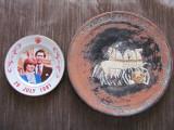 Farfurii Vechi  Decorative  2 Buc