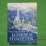 LOURDESI JEGYZETEK - 1942.