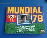 Program Campionatul mondial Argentina 1978 reclama adidas Platini Supliment PIF