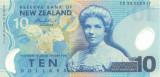 NOUA ZEELANDA █ bancnota █ 10 Dollars █ 2007 █ P-186 █ POLYMER █ UNC