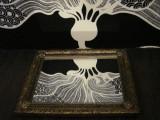 Oglinda Decorativa Vintage - Dimensiuni 50x41