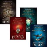 Pachet contele de Monte-Cristo (4 vol.)