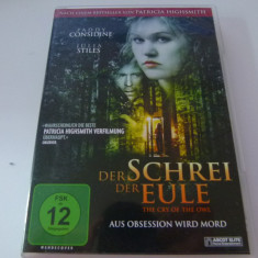 THE CRY OF THE OWL - DVD, Altele