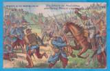 CARTE POSTALA DIN WW1 - DESENE CU SCENE DE LUPTA - BATALIA DE LA NEUFCHATEAU, Necirculata, Printata, Austria