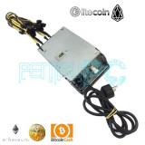 Promo! Sursa Mining HP AA23530 1300W 106A 12V cablata 12 Mufe PCI-e Garantie!, peste 1000 Watt