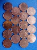 18 Monede diferite 2 euro centi, Europa