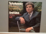 TSCHAIKOWSKY – PIANO CONCERT no 2 cu Emil Gilels (1974ARIOLA/RFG) - VINIL/NM+, ariola
