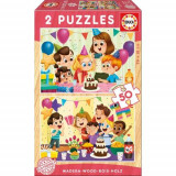 Puzzle Birthday Party 2 x 50 Piese - VV25773, Educa