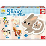 Puzzle Baby the Farm 14 Piese - VV25757, Educa